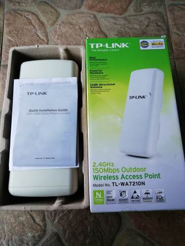 Access Point Tplink 2.4ghz 150mbps Outdoor