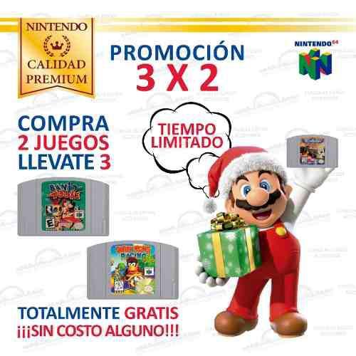 Banjo-tooie Y Más Juegos Originales Consola Nintendo 64