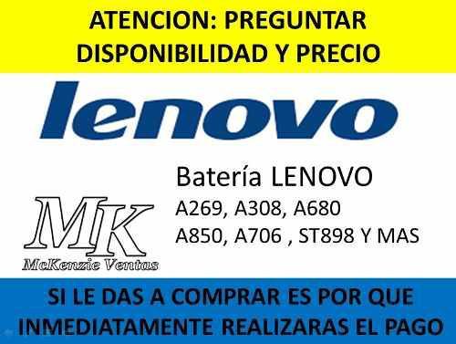 Batería Lenovo A269, A308, A680 A850, A706,st898 A806 Y Mas