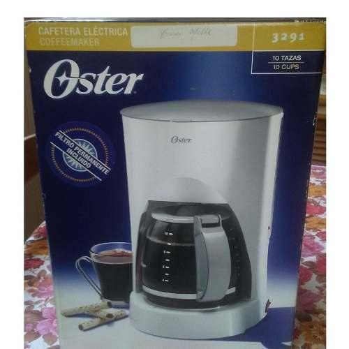 Cafetera Electrica Oster  Oferta 35$ Nueva 10 Tazas