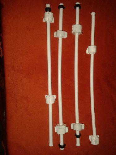 Canilla Plastica 1/2 X1 /2 Lavamanos Y Frega 1/2 X 5/8 W.c.