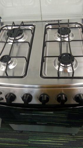 Cocina A Gas Marca Siragon Acero Inoxidable