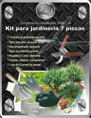 Kit De Jardinería 7 Piezas
