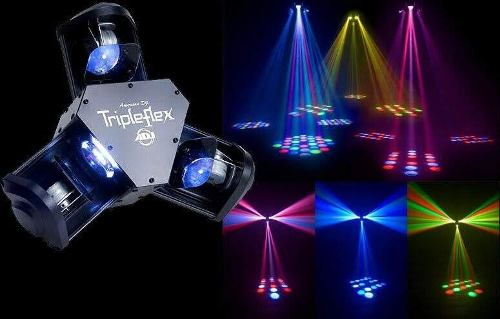 Luz Profesional De Led Dmx American Dj Tripleflex