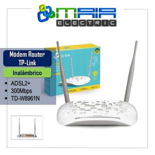 Módem Router Inalámbrico Adsl Mbps Tp-link Td-wn