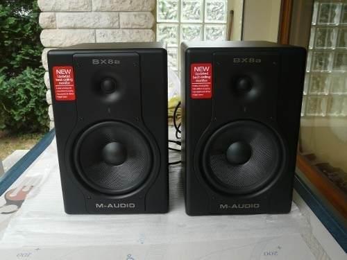 Monitor M-audio Bx8a En Excelente Condiciones !oferta¡ $380