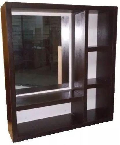 Mueble De Baño Con Espejo Elaborado En Melamina