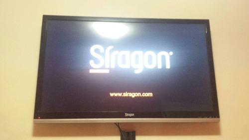 Oferta Tv Led Siragon De 46 Con Bandeja, Base Y Barra Sonido