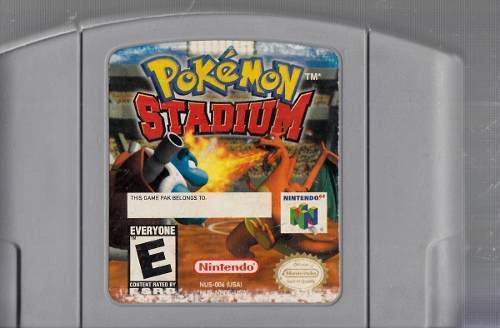 Pokemon Stadium. Juego Nintendo 64 Original Usado. M7.