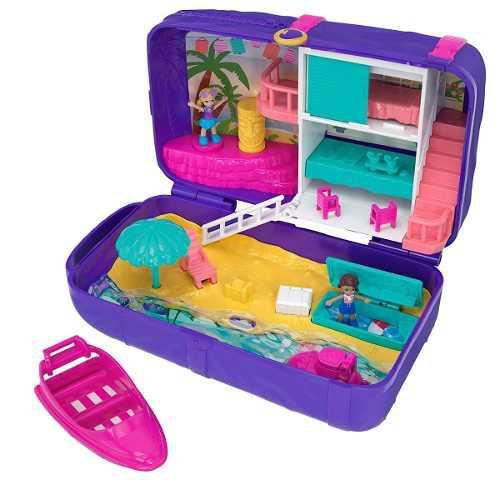 Polly Pocket Set De Playa Original