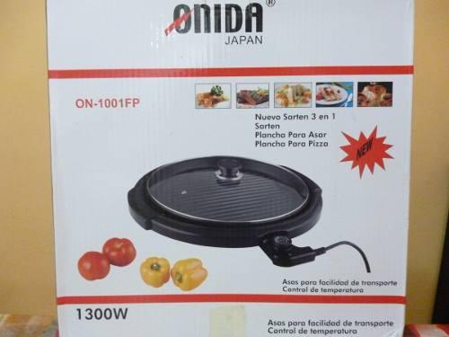 Sartén Eléctrico Pizza Pan Onida 3 En 1 Nuevo Oferta!!!