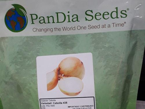 Semilla De Cebolla Texas 438 Marca Pandia Seed
