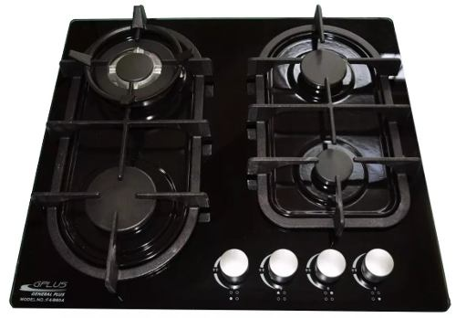 Tope De Cocina 4 Hornillas 60 Vitro