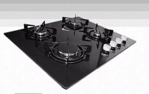 Tope De Cocina 4 Hornillas De Vitroceramica 60cm De Lujo