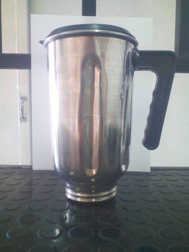 Vaso De Aluminio Licuadora Oster Con Tapa