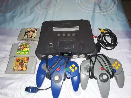 Vendo Nintendo64,con 2 Controles En Perfecto Estado +juegos
