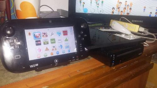 Wii U De 32gb Como Nuevo