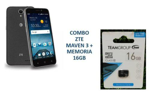 Zte Maven 3 Nuevo Liberados 4g + Memoria Sd