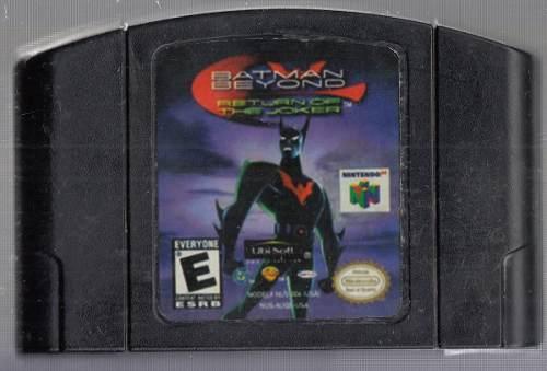 Batman Beyond Return Juego De Nintendo 64. Original Usado M3