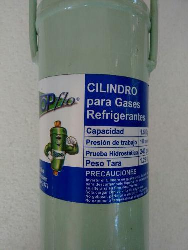 Bombona Para Recargas Gas Refrigerante Capacidad 1.5 Kg.