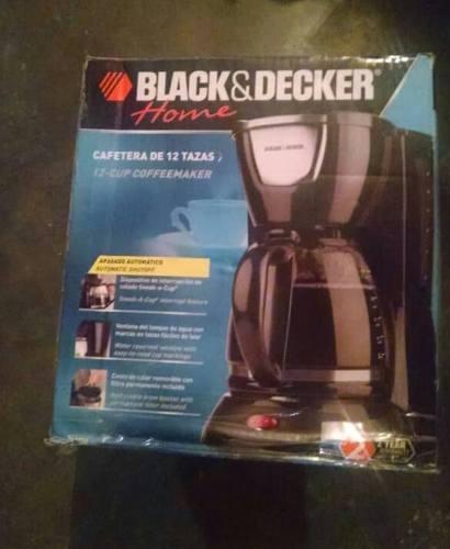 Cafetera Black & Decker Home Programable 12 Tazas Nueva