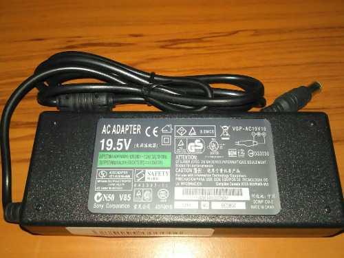 Cargador Para Laptop Sony Viao 19.5 V. Nuevo Sin Cable Power