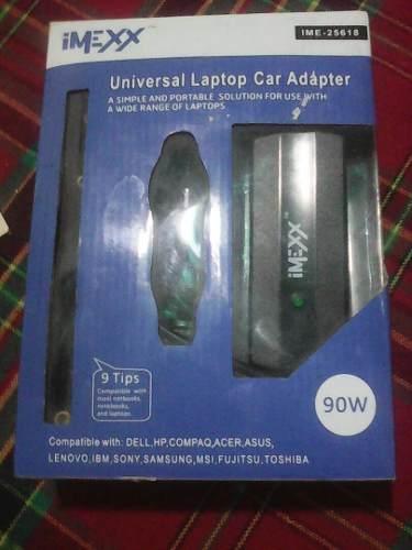 Cargador Universal De Laptop Para Carro Imexx