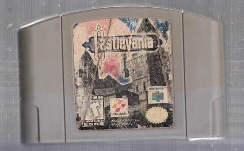 Castlevania. Juego De Nintendo 64. Original Usado M3