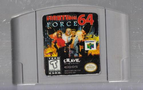 Fighting Force. Juego De Nintendo 64. Original Usado M3