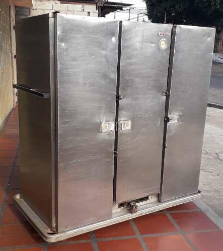 Horno Ahumador Industrial En Acero Inoxidable De 3 Puertas