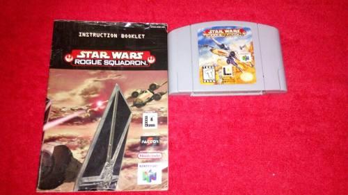 Juego De Nintendo 64 * Star Wars Rogue Squadron *