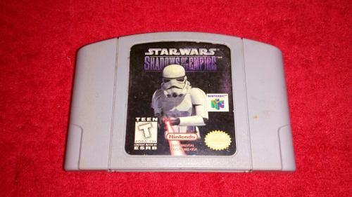 Juego De Nintendo 64 * Star Wars Shadow Of The Empire *