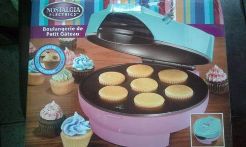 Maquina Para Hacer Mini Cupcake Nostalgia
