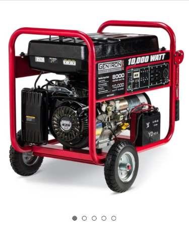 Planta Electrica A Gasolina Gentron De w $