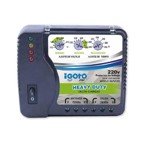 Protector De Voltaje Alta Carga 220v - Igoto