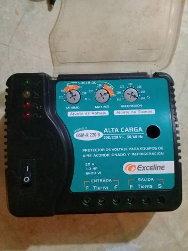 Protector Exceline 220v Para Refrigerador Y Aire Acondiciona