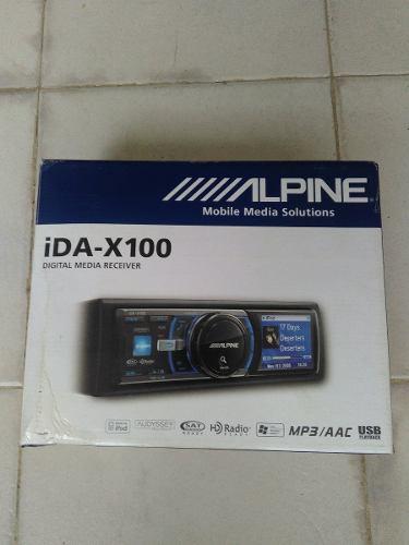 Reproductor Alpine Ida X100 Usb Usado En Buen Estado