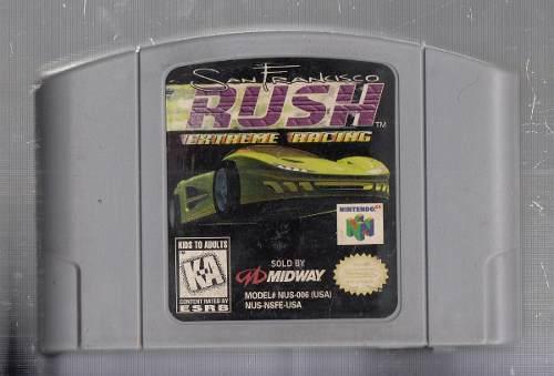 Rush San Francisco. Juego De Nintendo 64. Original Usado M3