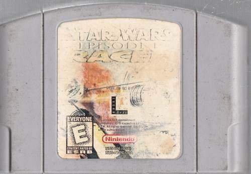 Star Wars Episodio I Race. Nintendo 64 Original Usado.