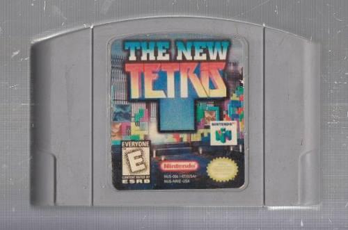 The New Tetris 64. Juego De Nintendo 64. Original Usado M3