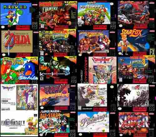 709 Juegos De Super Nintendo En Tu Pc - Fácil Y Rápido