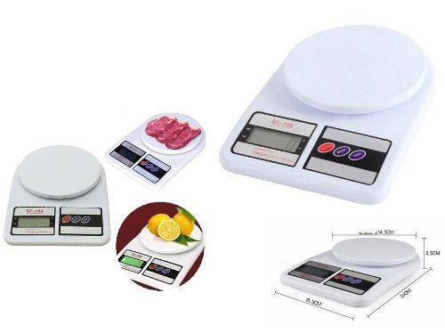 Balanza Peso Digital 7kg Cocina Comida Portatil Bagc