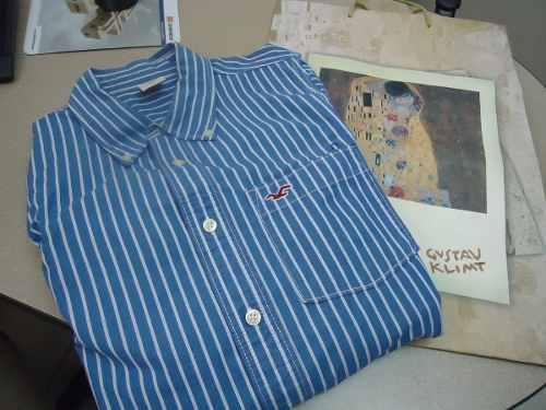 Camisa Hollister Original Talla L.algodón
