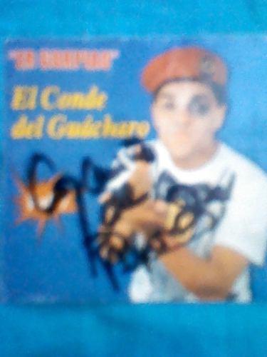 Caratula Del Er Gorpiao Del Conde Del Guacharo Autografiada