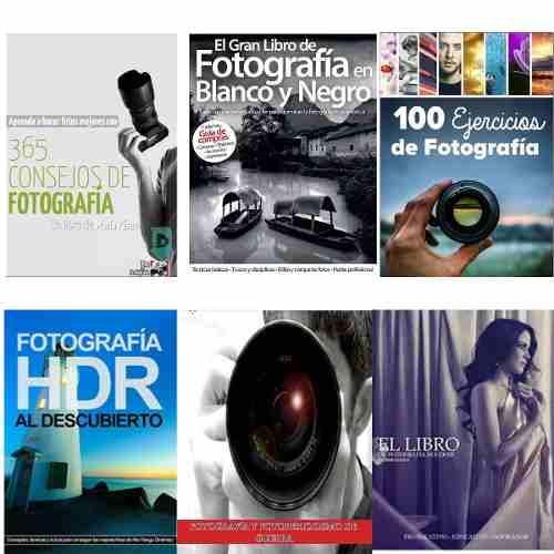 Combo 6 Libros Digitales Fotografía  Hdr Bn Pdf