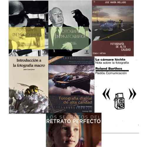 Combo 7 Libros Digitales Fotografía  Cinematográfic