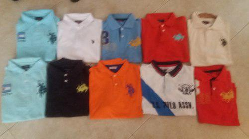Combo De Camisas U.s Polo Remate