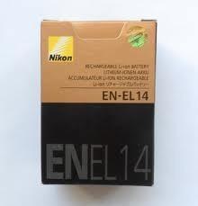 Nikon Baterias En-el-14 Nikon Originales En Su Empaque Orig.