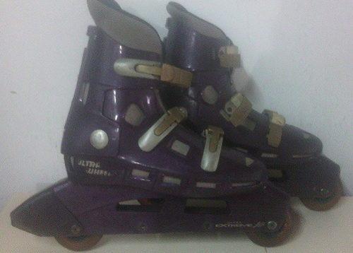 Patines En Linea Ultra Wheels Talla 7/8 41-42