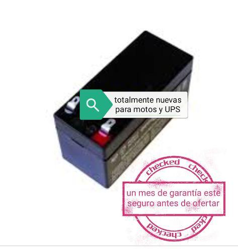 Pila Bateria 12v 7ah Para Todo Tipo De Moto Y Ups